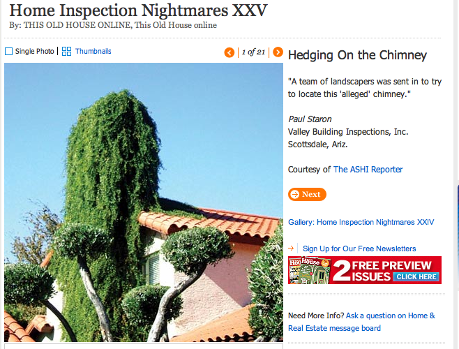 the worst home inspections