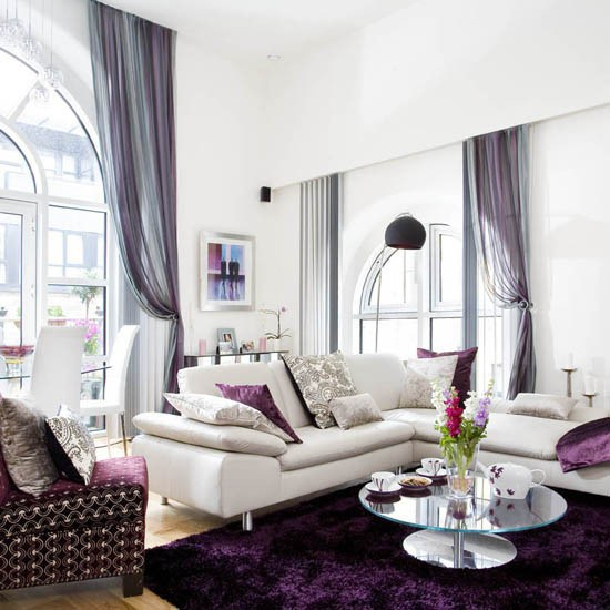 glamour living room