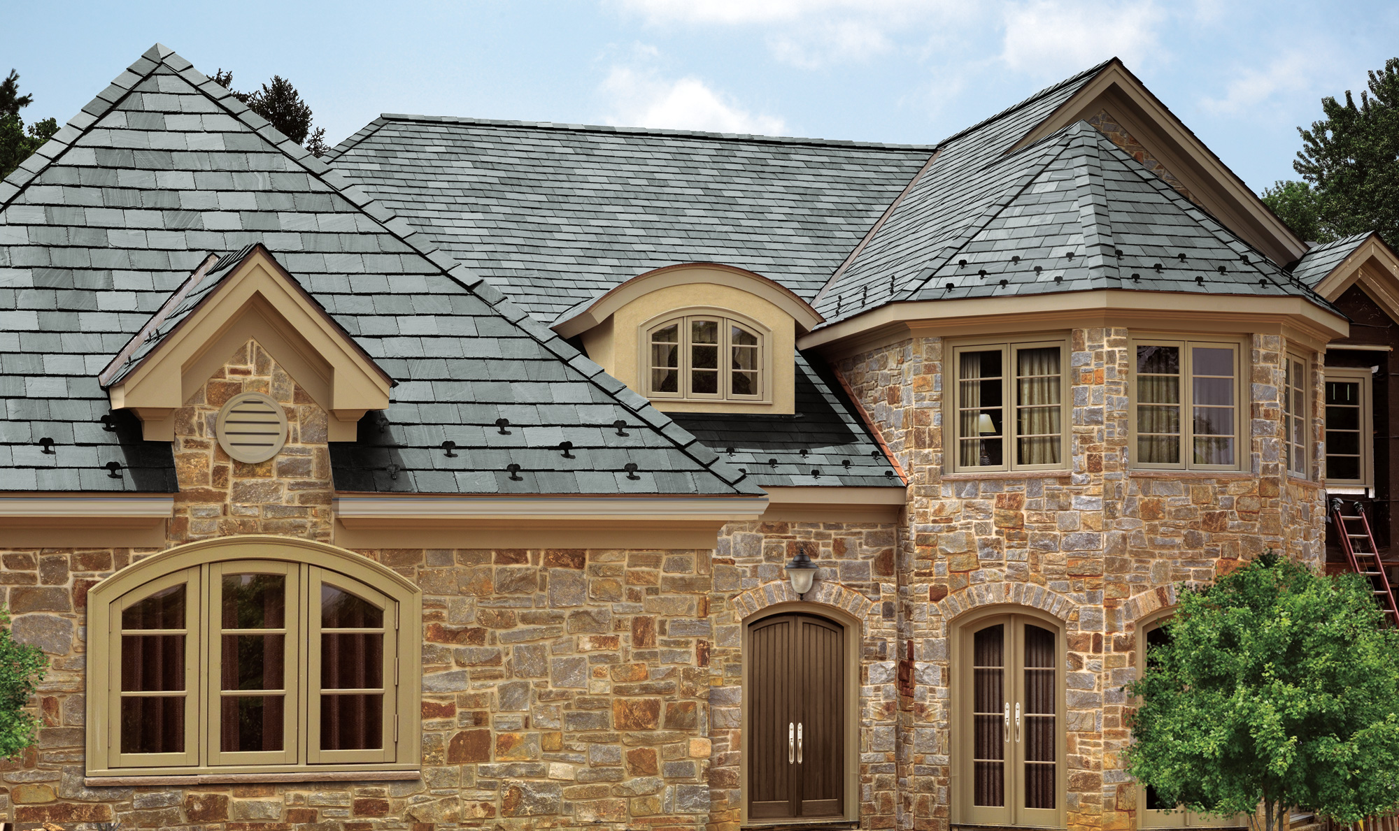 Roofing styles zen of zada for Types of roofs for houses