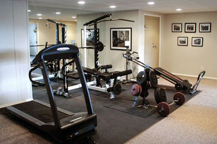 Workout Room Furnishings