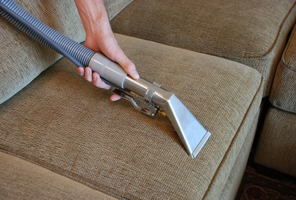 HomeZada steam clean upholstery