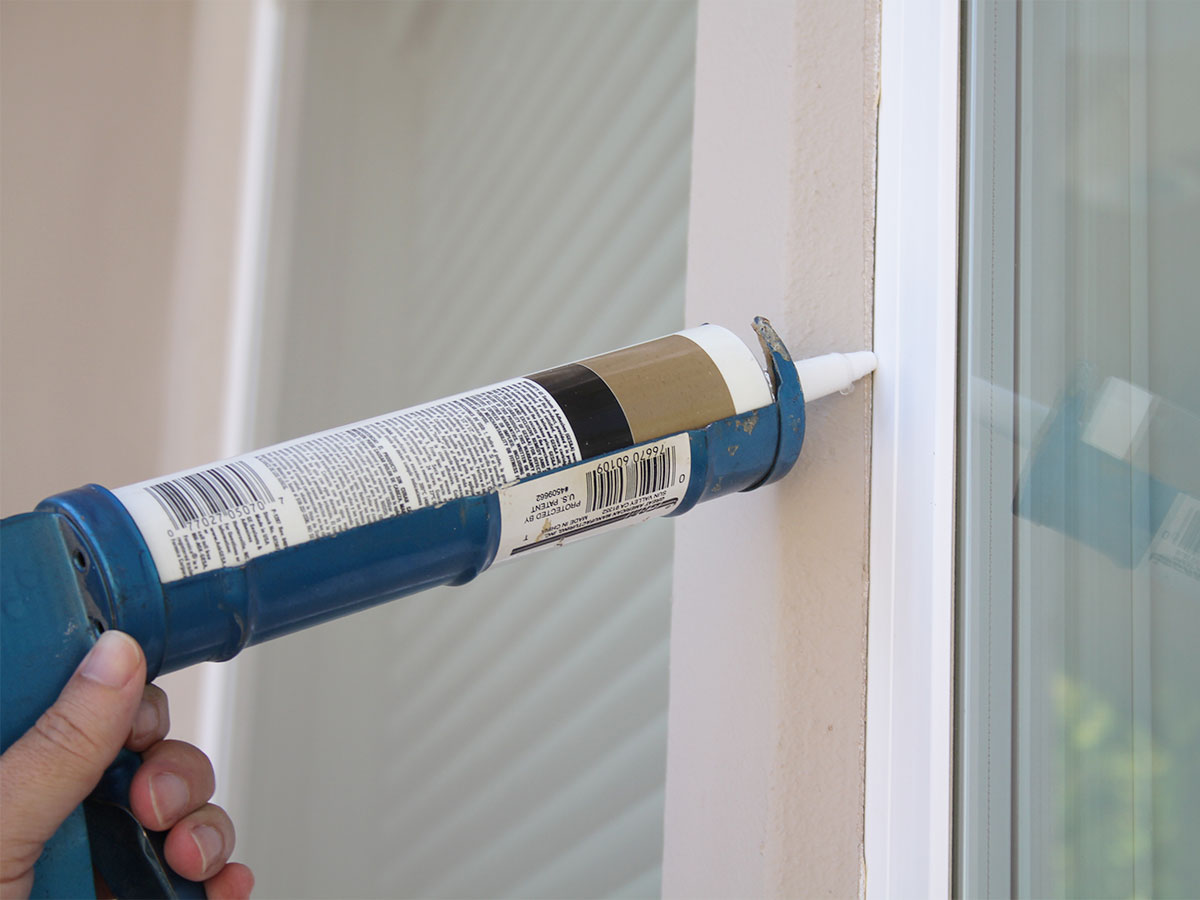 HomeZada Home Maintenance Tip: Inspect Exterior Caulking