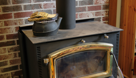 how to clean a gas fireplace flue