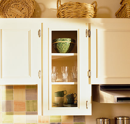 5 easy ideas for small kitchens zen of zada for Kitchen cabinets zen