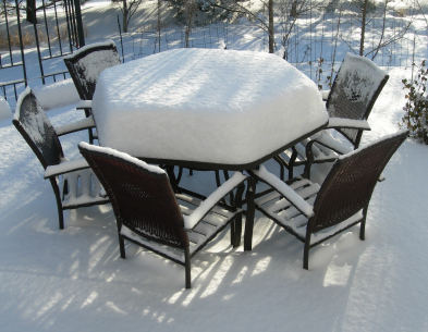 HomeZada Maintenance Tip Clean Patio Furniture for Winter Storage