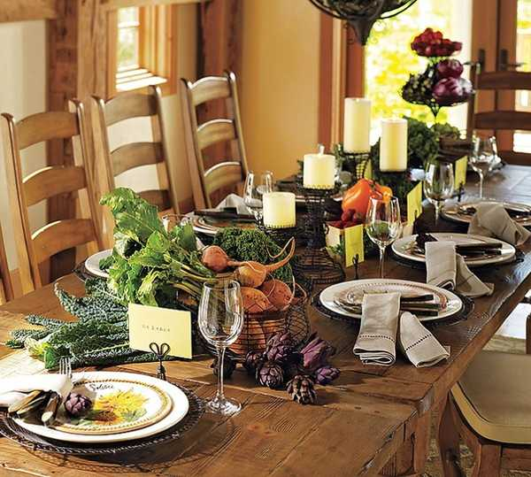 Thanksgiving Table Decorating: Four Thanksgiving Table Decorating Tips