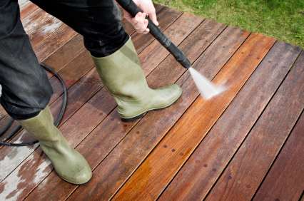 HomeZada Pressure Wash Decks Patios and Driveways