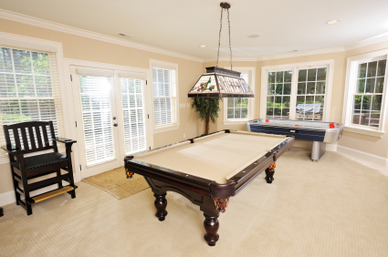 HomeZada Home Remodel Game room furnishings