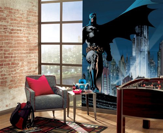 superheros decorating 10