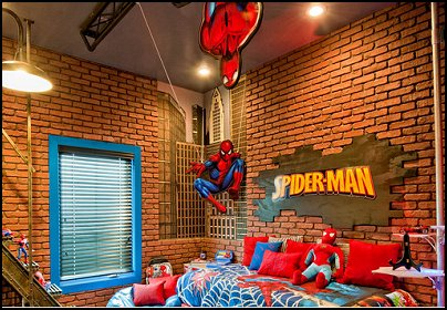 superheros decorating 3