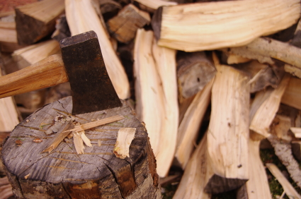 HomeZada Chop Wood for Wood Burning Fireplaces