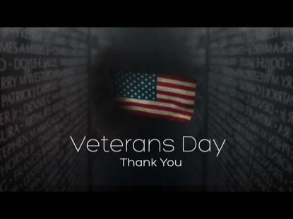 Thank you to our Veterans on this Veteran's Day