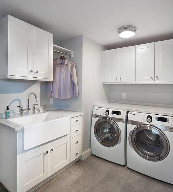 Modern-clean-lined-laundry-room