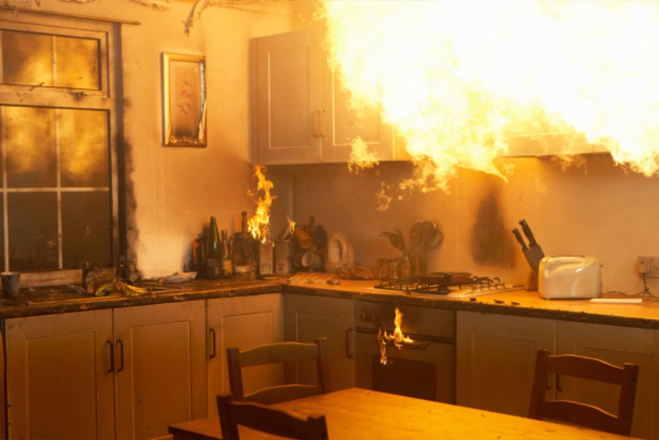 Three Important Steps to Take During a House Fire