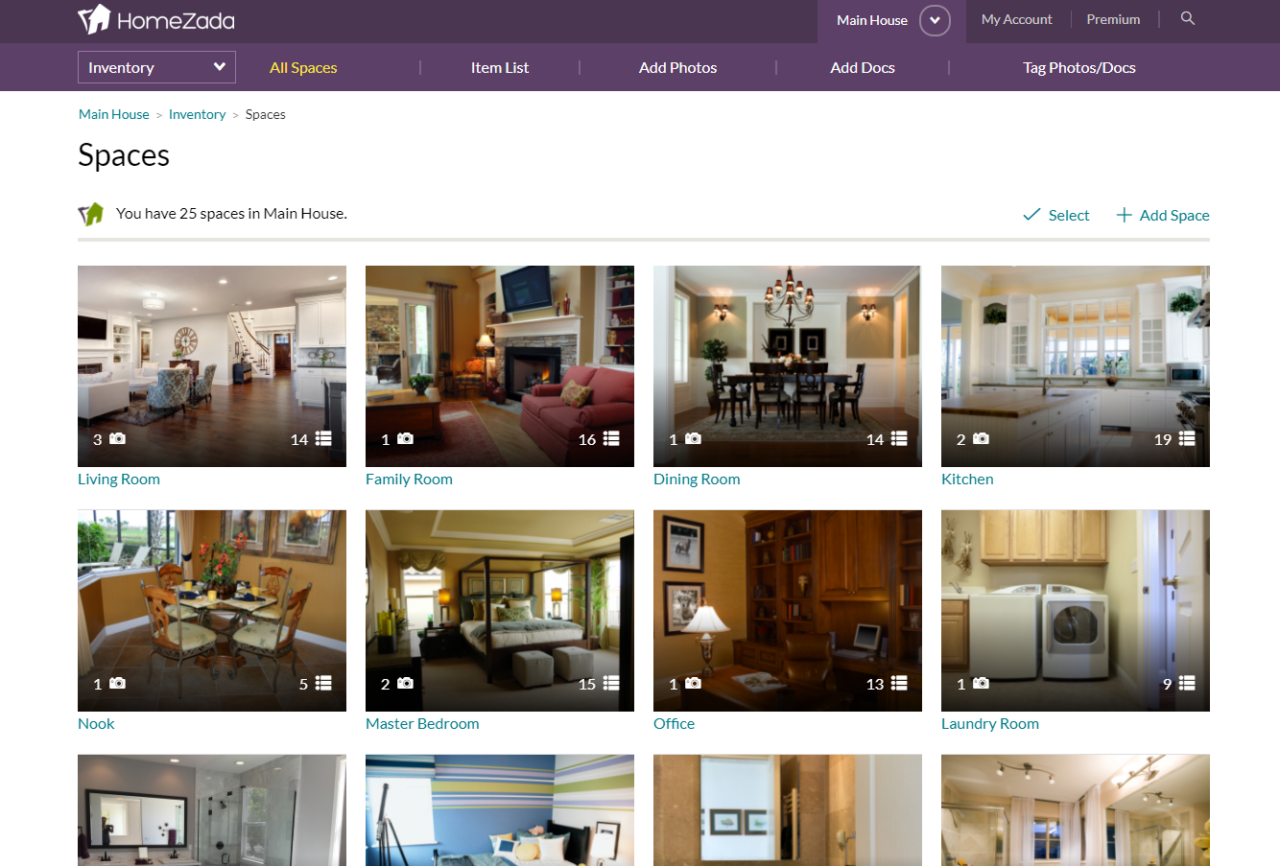HomeZada Tip: Move an Item